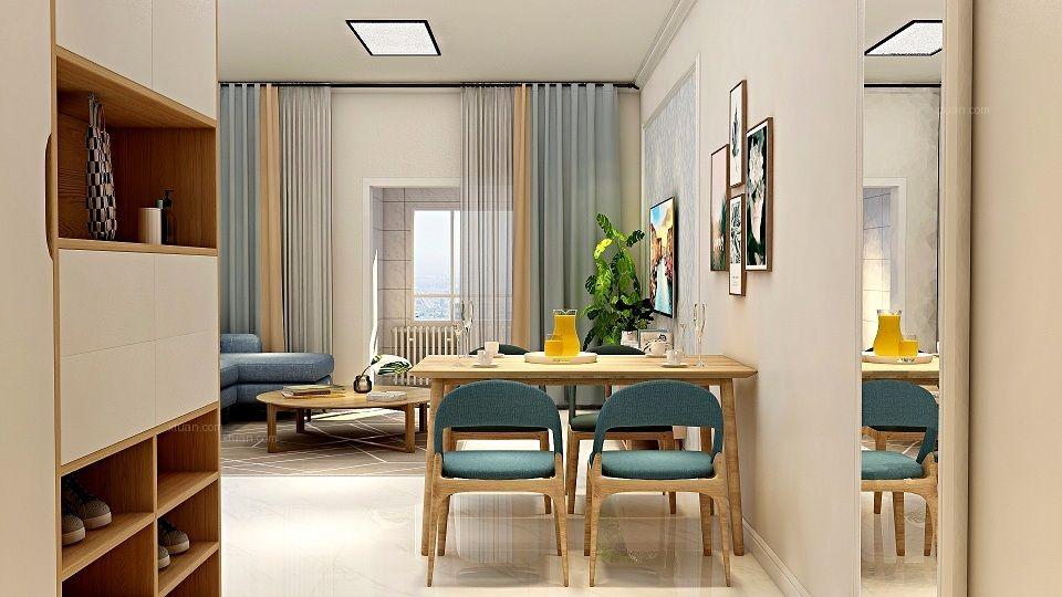 三居室现代简约餐厅厨具
