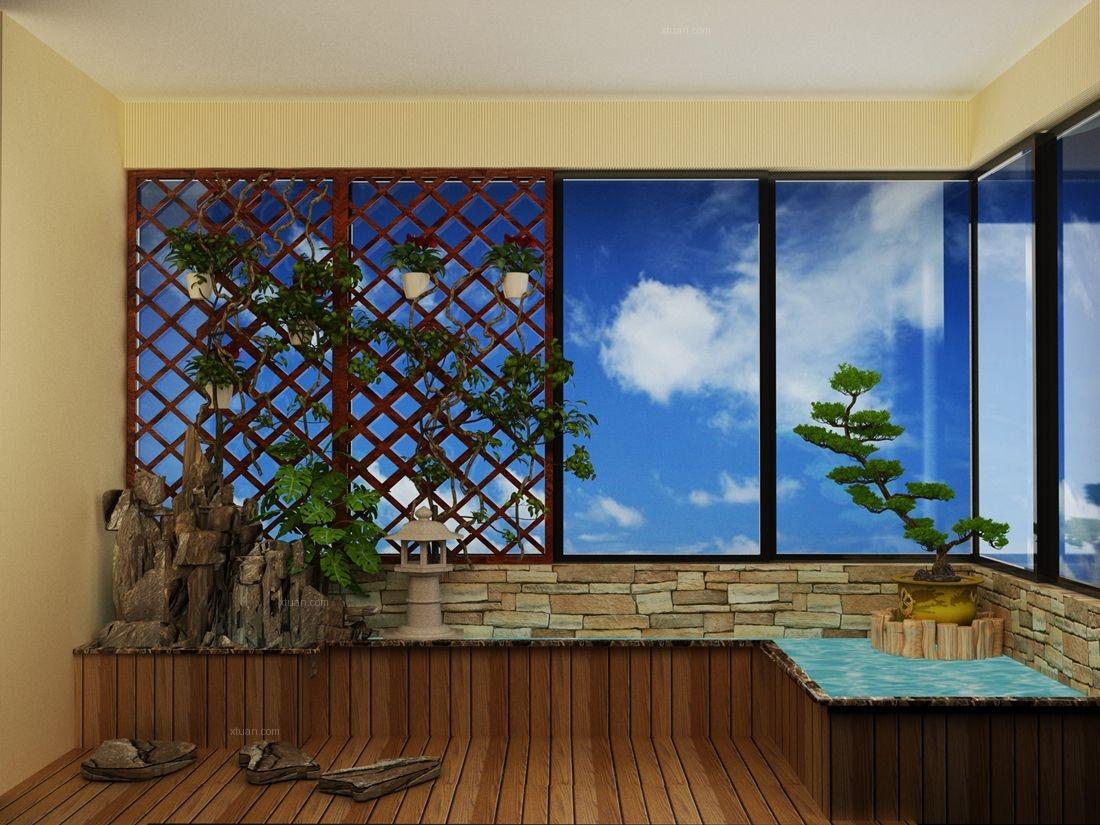 两居室欧式风格阳台