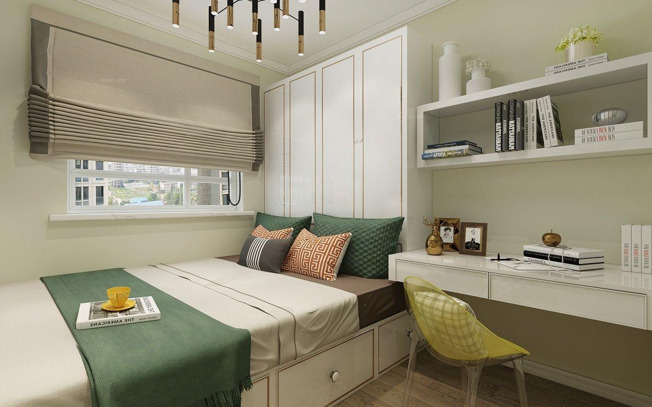 两居室北欧风格卧室