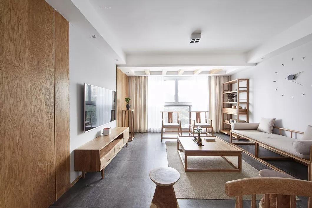北大资源颐和翡翠府四居室现代简约案例