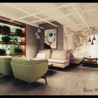南京九月清吧餐饮室内设计独特ins风格