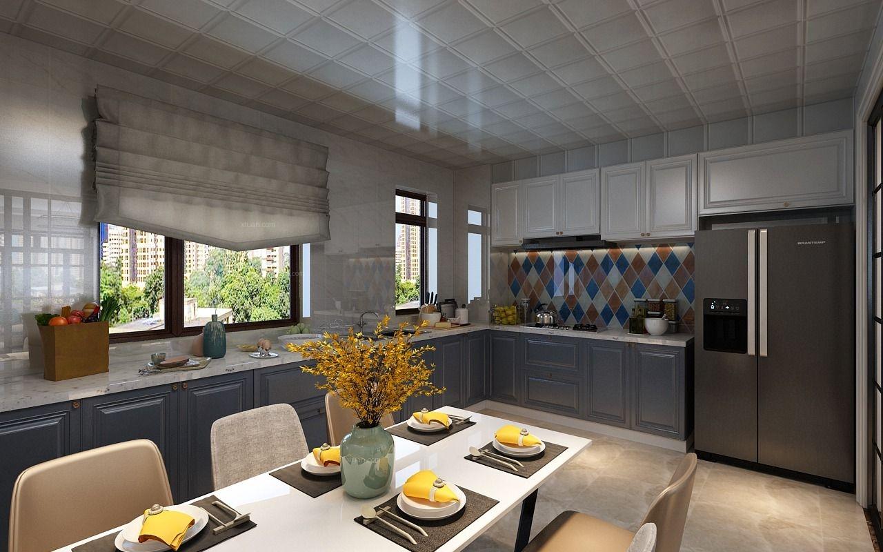 兩居室現代簡約廚房