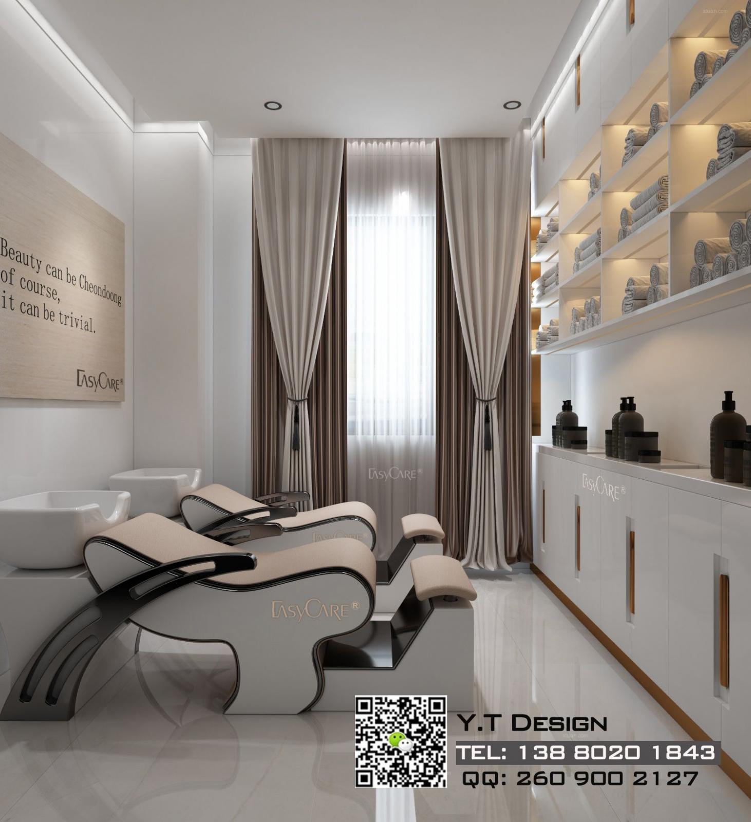 成都皮肤管理中心设计|皮肤管理中心装修设计