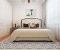 温莎花园-优雅洁白现代风格案例-哈尔滨鸣雀装饰