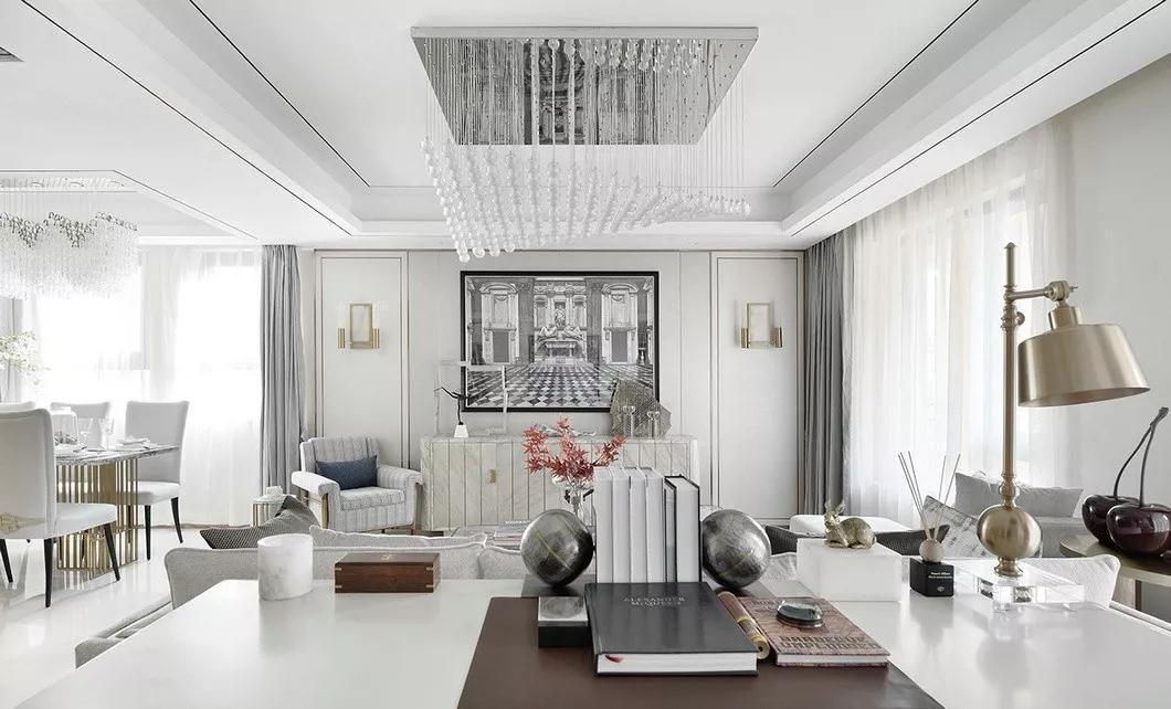別墅現代簡約客廳