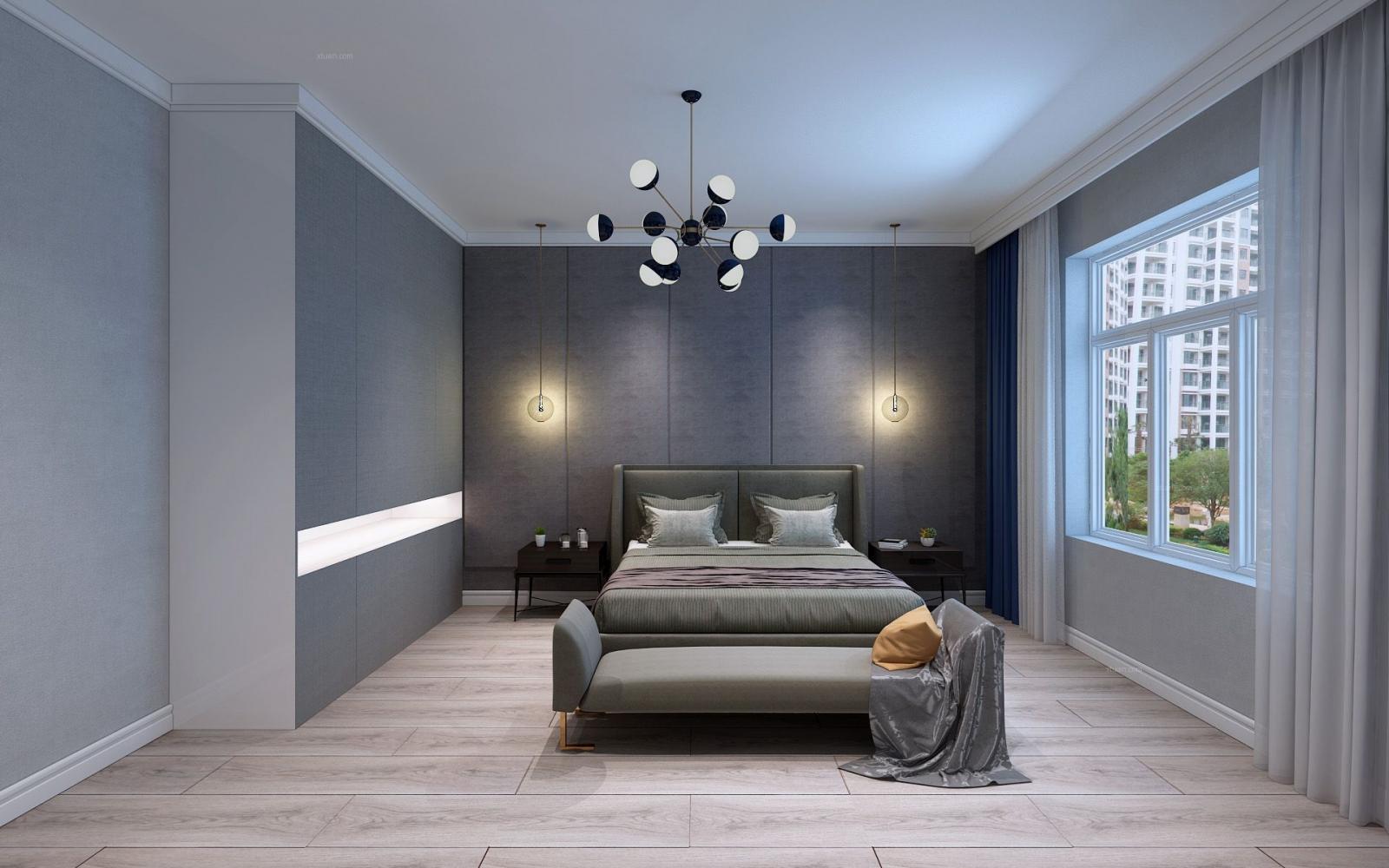寶宇天邑環球港-居家現代風格案例-哈爾濱鳴雀裝飾
