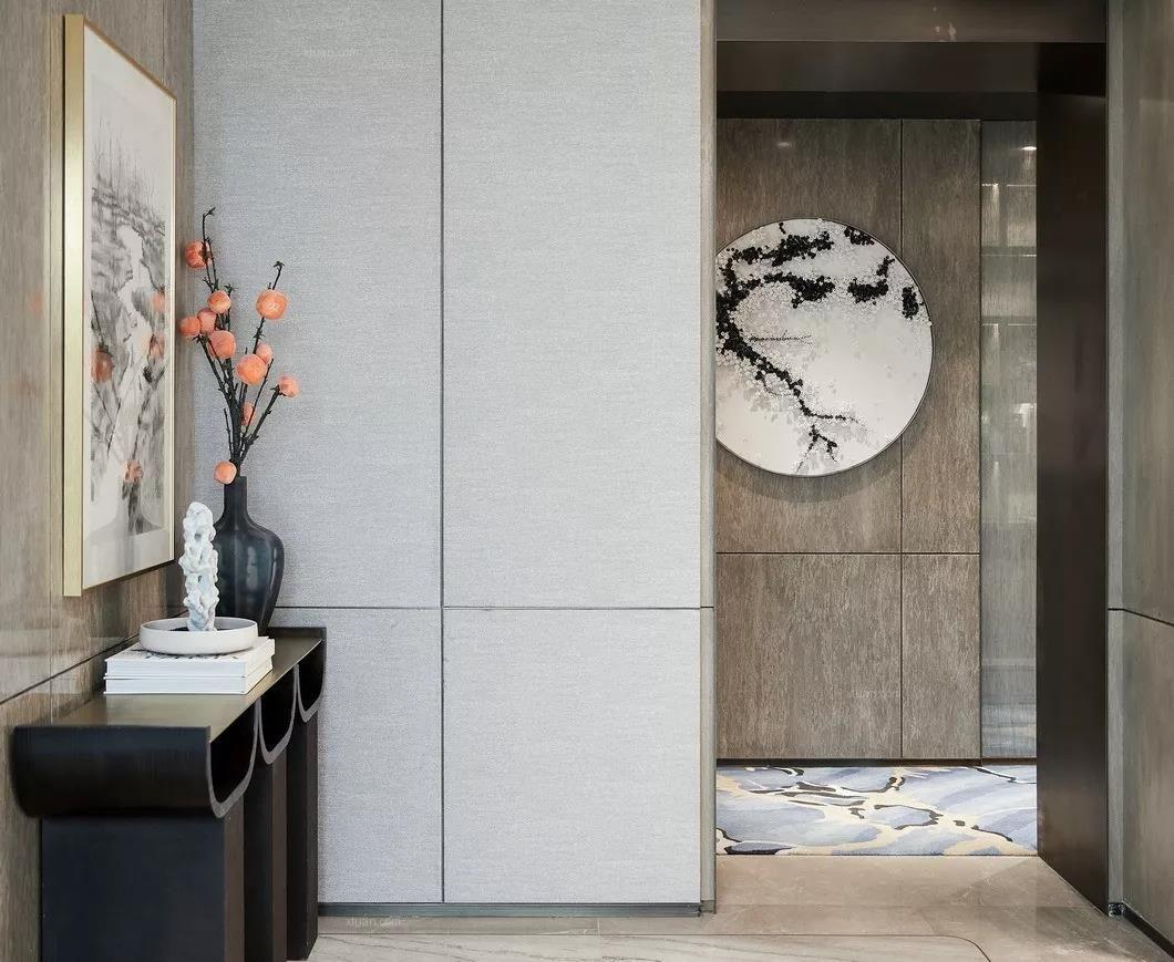 成都世茂城現代中式裝修樣板間-成都大樹裝飾