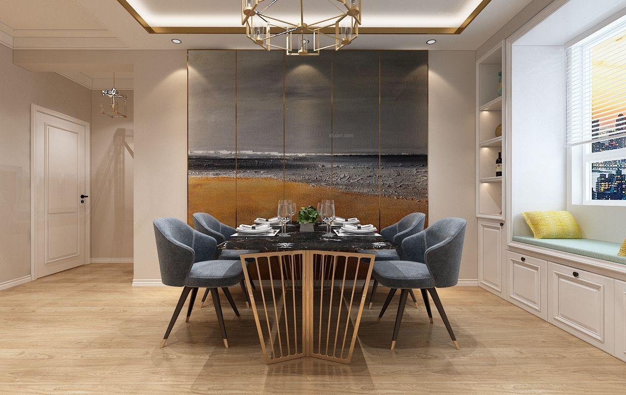 玫瑰湾-时尚现代风格案例-哈尔滨鸣雀装饰