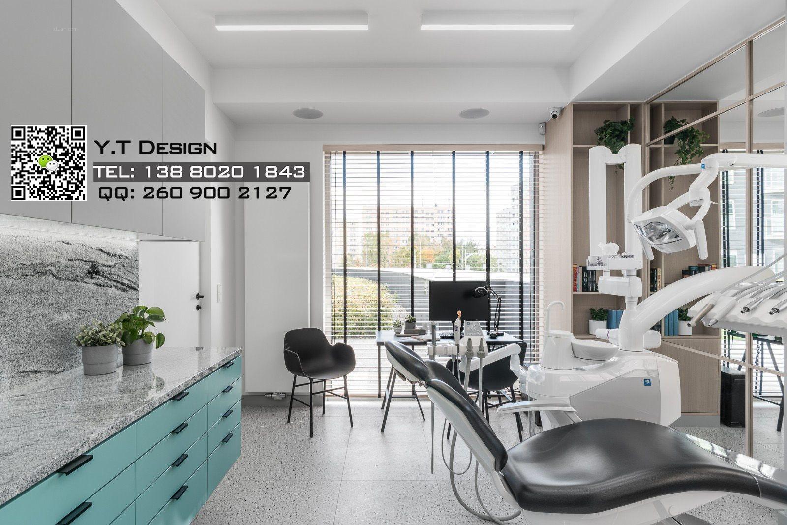 成都牙科诊所空间设计|成都口腔诊所设计公司|口腔医院装修设计