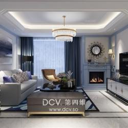 西安融侨城清新北欧住宅室内装修设计