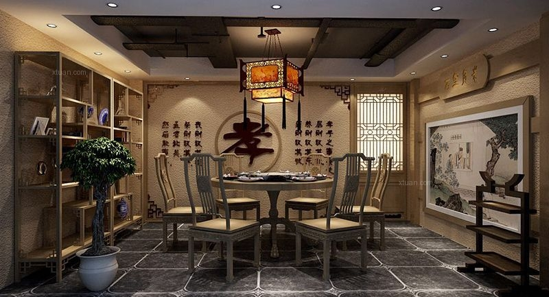 更多装饰曾鹏·梦回巴蜀餐厅设计