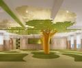 梅州爱乐早教中心—田园风格早教中心设计装修