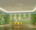 南阳东方爱婴早教中心设计—自然幼儿园装修风格