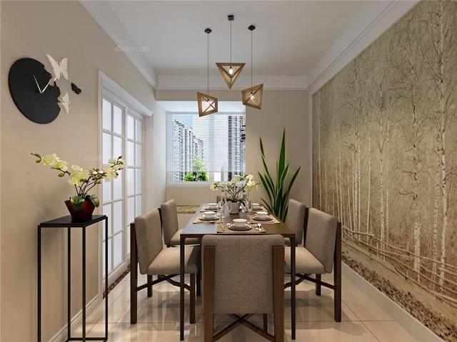 成都朗基御今缘三居室现代简约风格案例-成都大树装饰
