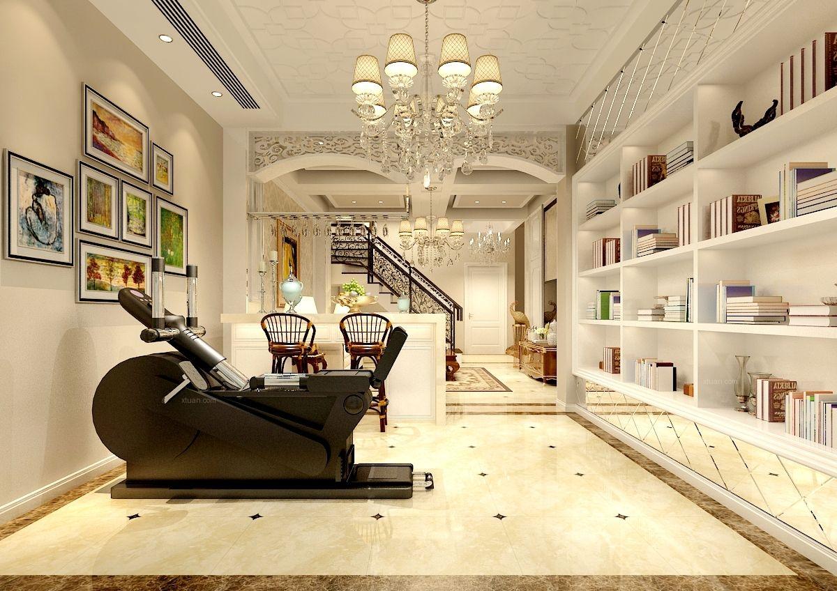 350平欧式风格别墅设计案例
