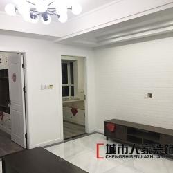 桦林彩云城三室两厅北欧风格装修效果图