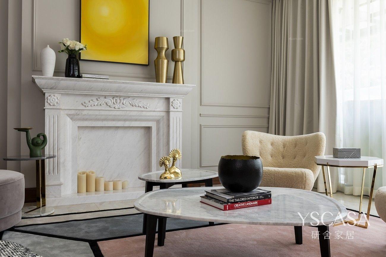 研舍设计 | 造景为画,借光为适,品味艺术奢宅的温情