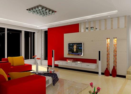 如何打造合适实用的电视背景墙