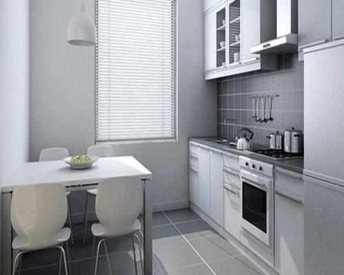 要装修成开放式的小厨房应具备以下条件:业主是那些喜欢吃西餐,在家中