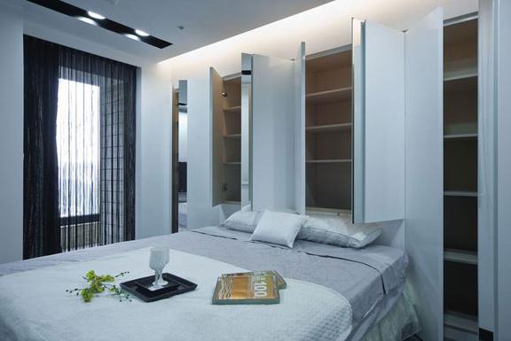 床头设计 小户型床头怎么设计-x团装修网
