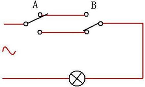 双控开关接线图 双控开关电路图