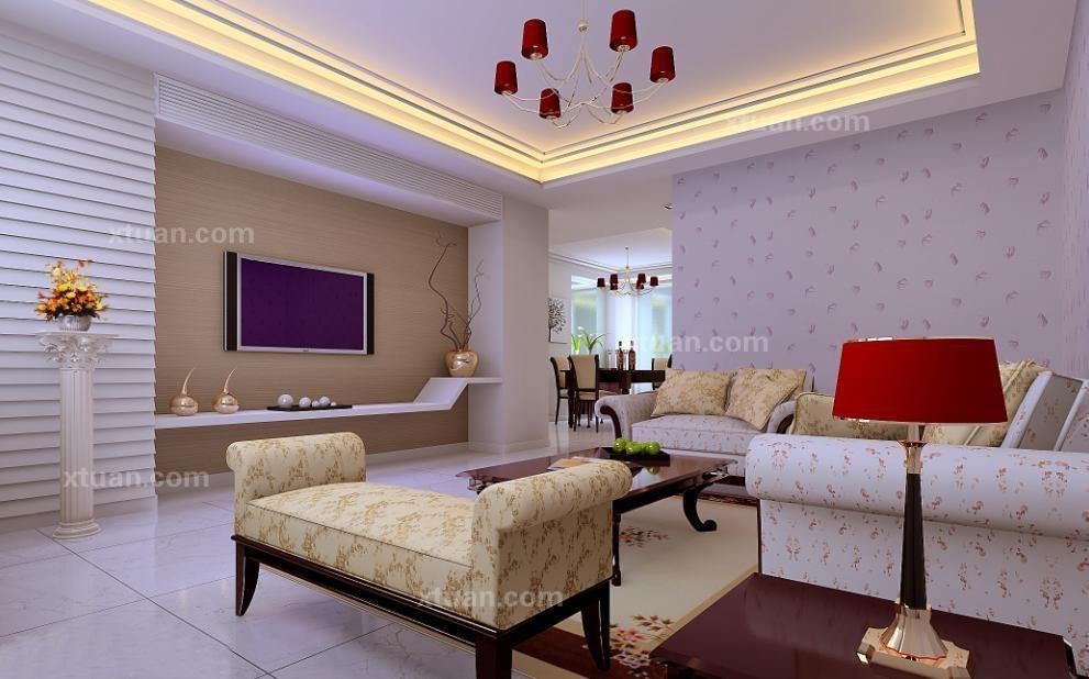 客厅背景墙设计手法