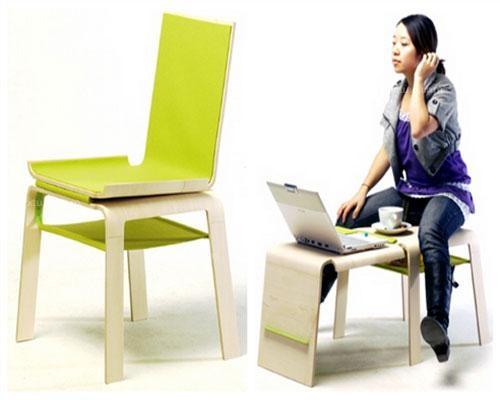 多功能折叠椅子  这款多功能折叠椅的设计很有创意图片