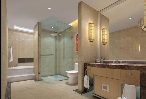 卫生间装修效果图大全2012图片 2012最流行的卫生间装修效果图