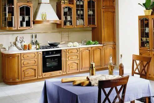 欧式风格欧式吊顶欧式厨房装修效果图; 8款厨房装修效果图 欧式厨房