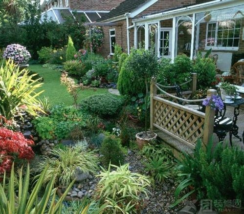清新别墅花园设计
