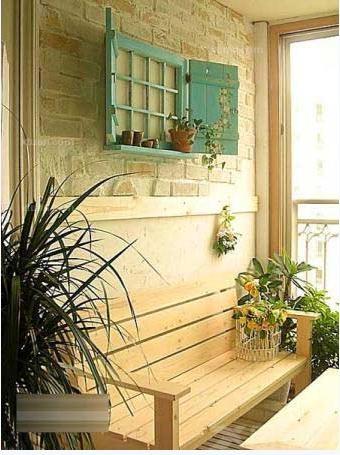 创意阳台设计方案-x团装修网