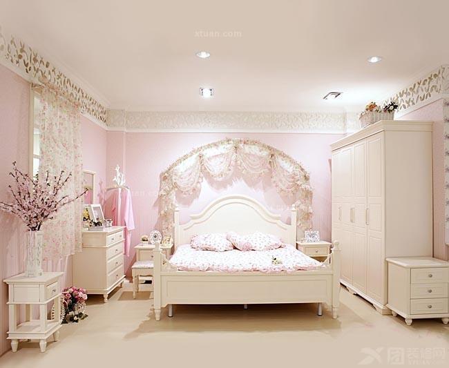 自然乡村风格卧室装修