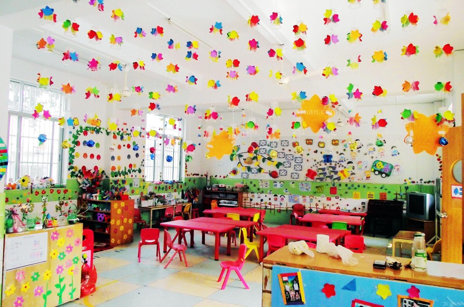 幼儿园环境布置图片欣赏
