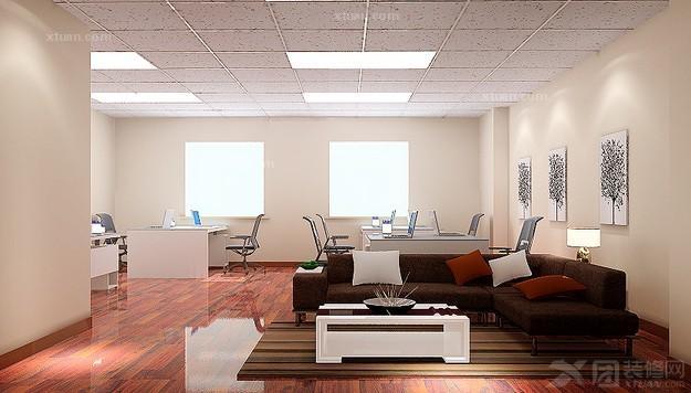 小办公室设计装修效果图