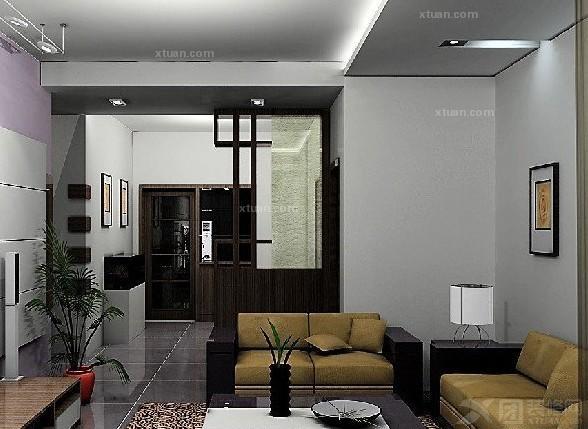 家居家装 装修详解 > 屏风隔断装修效果图  屏风隔断效果也运用到了