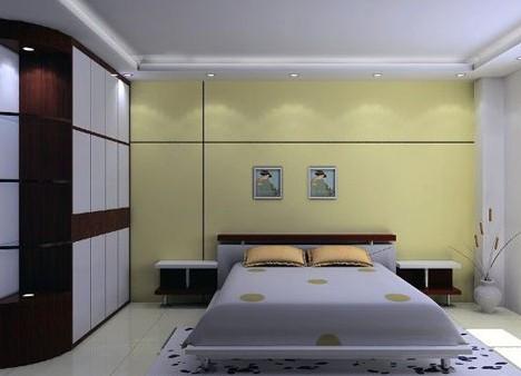 新款卧室整体衣柜效果图