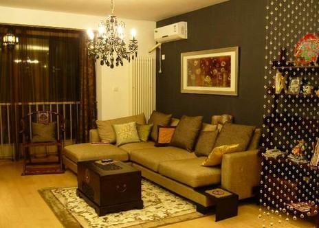 卧室与客厅隔断墙的打造手法