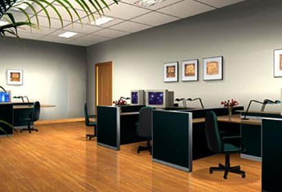 办公室效果图