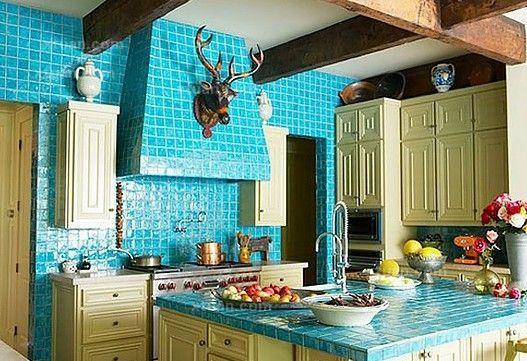地中海风格厨房装修效果图