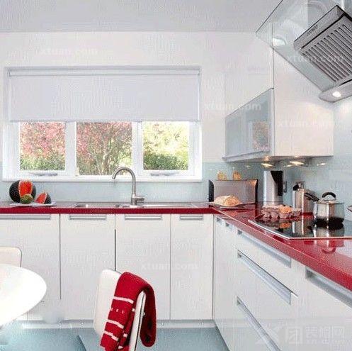 小户型厨房装修 l型厨柜设计绝佳选择