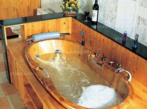 木桶浴缸尺寸大小-x团装修网
