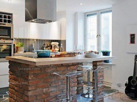 小户型厨房的精致设计-x团装修网图片
