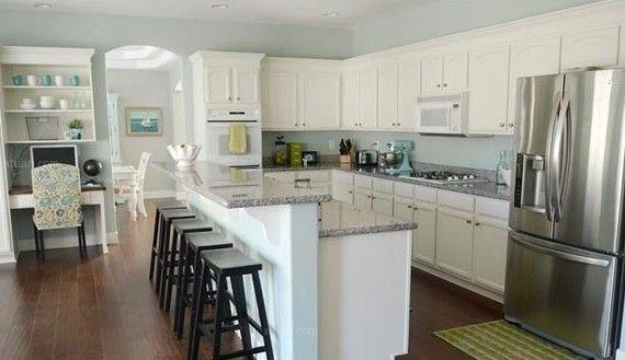 开放式厨房装饰效果图欣赏图片