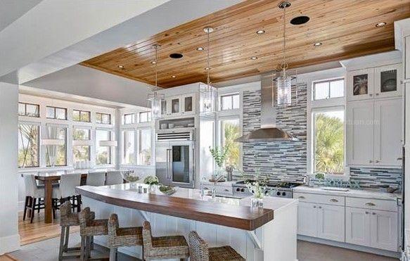 开放式厨房装饰效果图欣赏