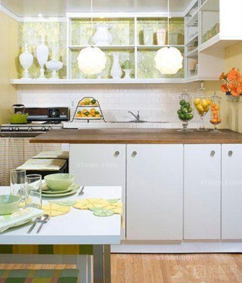 厨房也能小清新-x团装修网图片