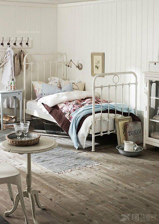 卧室装修效果图--森林系卧室设计