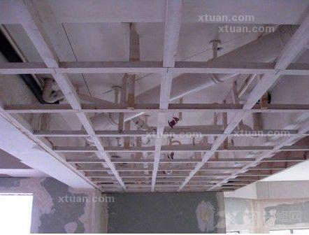 纸面石膏板吊顶施工工艺介绍