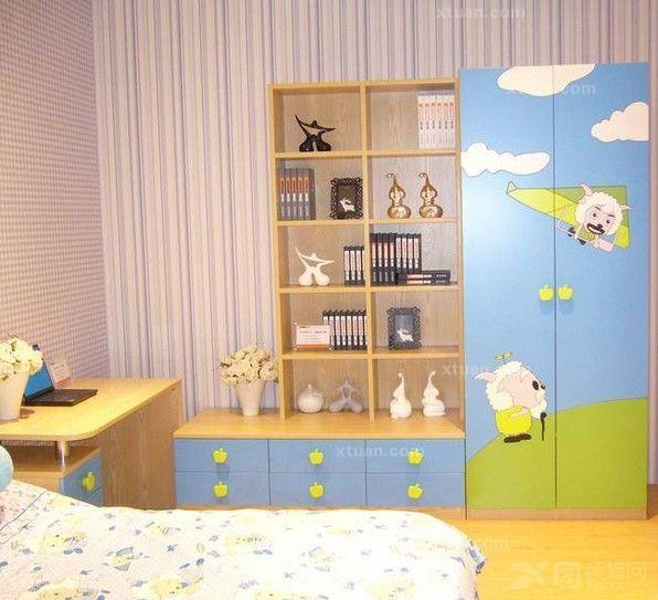 儿童房衣柜图片 解析儿童房衣柜设计要点
