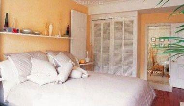 个性卧室背景墙效果图-实现局部改造成功设计