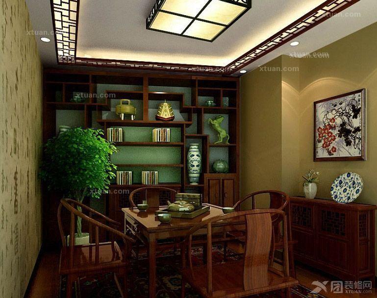 茶馆装修设计与布局图片
